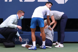 Novak Djokovic disqualified from U.S. Open
