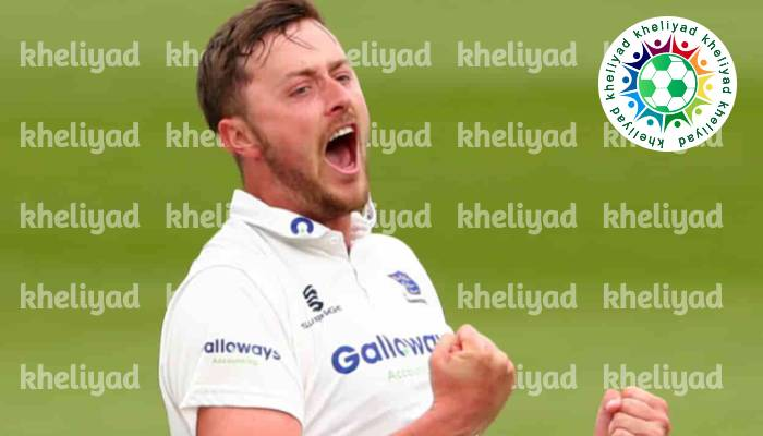 fast bowler Robinson suspended